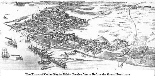 Cedar Key 1884