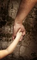 Dad & Daughter Holding Hands_Trust