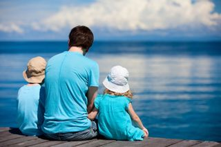 Father - Children on Dock iStock_000019829727XSmall
